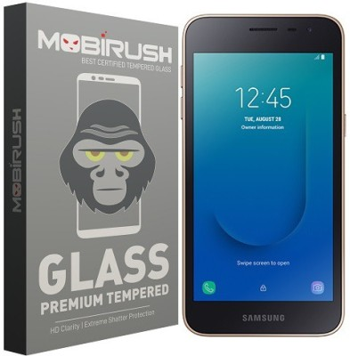 MOBIRUSH Tempered Glass Guard for Samsung Galaxy J2 Core(Pack of 1)