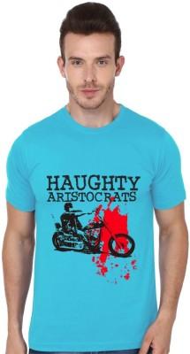 PARTUM CORDE Graphic Print Men Round Neck Light Blue T-Shirt Flipkart