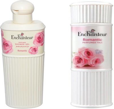 Enchanteur Romantic Shower Gel & Romantic Talc(Set of 2)