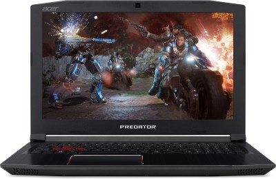 Acer Predator Helios 300 Core i7 8th Gen - (8 GB/1 TB HDD/128 GB SSD/Windows 10 Home/4 GB Graphics) PH315-51 Gaming Laptop(15.6 inch, Black, 2.7 kg)
