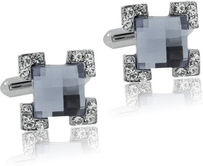 the jewelbox Brass Cufflink(Grey)