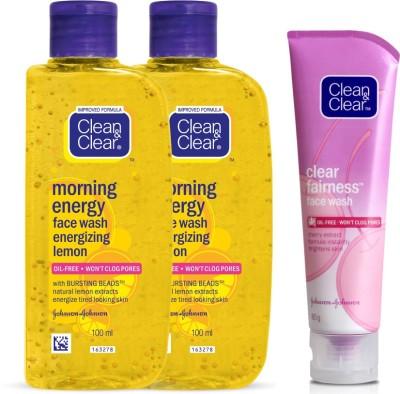 Clean & Clear Morning Energy Lemon Face Wash(280 ml)
