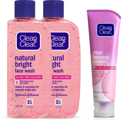 Clean & Clear Natural Bright Face Wash(280 ml)
