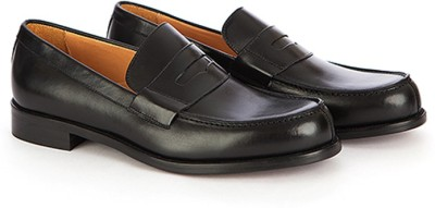 Vittore Men' s Formal Slip On Leather Shoes - Black, Size - UK;IND7/EU40 Party Wear For Men(Black) at flipkart