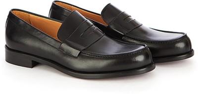 Vittore Men' s Formal Slip On Leather Shoes - Black, Size - UK;IND7/EU40 Party Wear For Men(Black) at flipkart