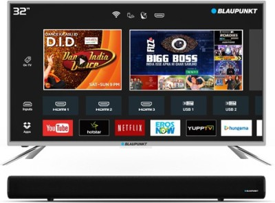 Blaupunkt 32 inch HD Ready Smart LED TV is a best LED TV under 15000