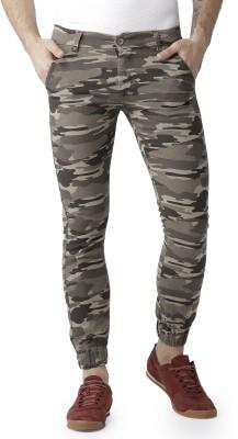 SAPPER Camouflage Men Blue Track Pants