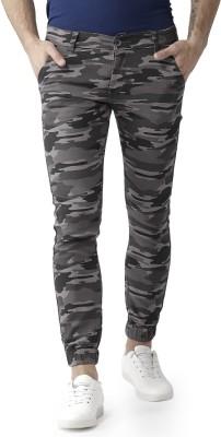 Tribewear Camouflage Men Multicolor Track Pants