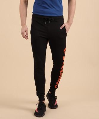 Converse Printed Men's Black Track Pants