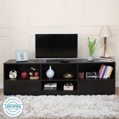 Home Full Bliss Engineered Wood TV Entertainment Unit(Finish Color - Wenge)