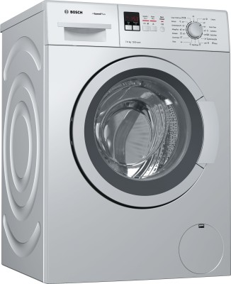 Bosch 7Kg Front Load Fully Automatic Washing Machine Silver (WAK24169IN, Silver)