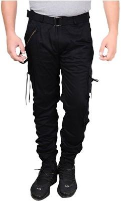 Tripr Self Design Men Black, Grey Regular Shorts