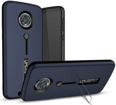 the latest 1efbb 61a76 Tommcase Back Cover for Motorla Moto G6 Plus(Matte Blue, Rubber)