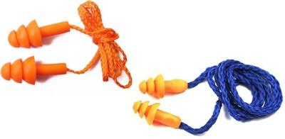 Vezual reusable (1 Pair) & 3m 1270 reusable (1 Pair) Corded Ear Plug & Nose Clip(Multicolor)
