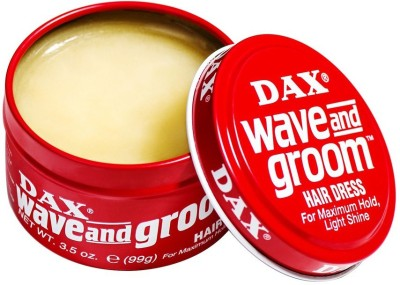 Dax Wave And Groom Hair Dress For Maximum Hold, Light Shine Wax(99 g)