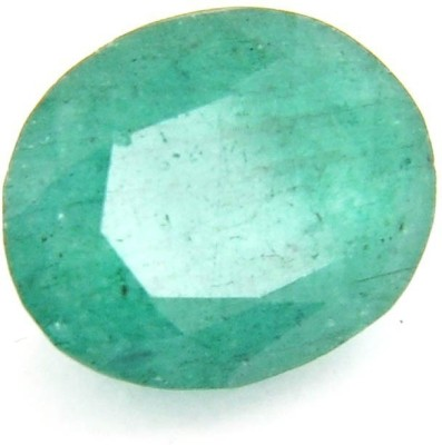 raviour lifestyle 3.75 Ratti/3.41 ct. Emerald/Panna Supreme Certified Natural Gemstone for Ring Stone Emerald Ring at flipkart