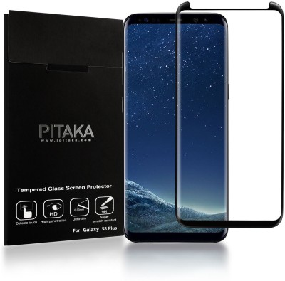 Royal Mobiles Edge To Edge Tempered Glass for Samsung Galaxy S8 (Blue)(Pack of 1)