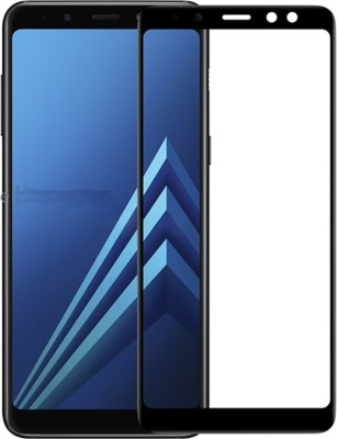 Fusion Gear Edge To Edge Tempered Glass for Samsung Galaxy A8+(Pack of 1)