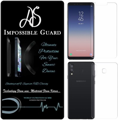 S-Fancy Tempered Glass Guard for Samsung Galaxy A8 Star ( Premium 5D 9H Full Glue)