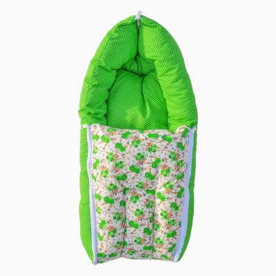 Younique 3 in 1 Baby Bed Carrier Sleeping Bag(Green)