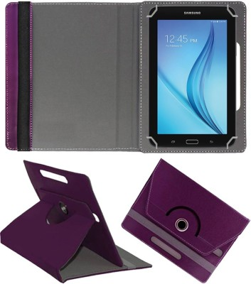 """Fastway Flip Cover for Samsung Galaxy Tab E Lite 7.0"""" 8GB (Wi-Fi)(Brown, Cases with Holder)"""