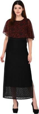 Vashist Women A-line Black Dress