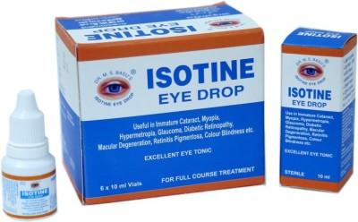 ISOTINE PACK OF 6 Eye Drops(10 ml)