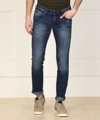 Wrangler Slim Men Blue Jeans at flipkart