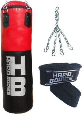 Hard Bodies Cliq Punching Bag Unfilled Hanging Bag(3, 36 kg)
