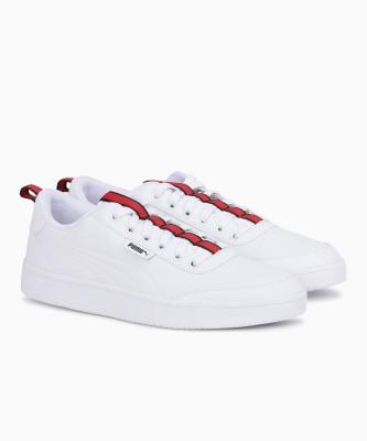 6cd01673ba0b87 37% OFF on Puma Court Breaker Flag Sneakers For Men(White) on Flipkart |  PaisaWapas.com