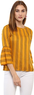 Mayra Casual 3/4th Sleeve Striped Women