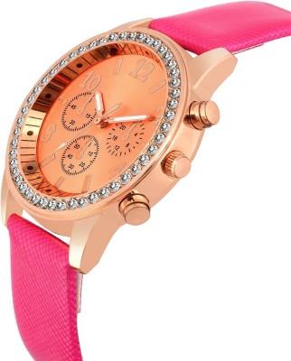 COSMIC FLORAL Mac Geneva Chronograph Pattern Analog Watch   For Women COSMIC Wrist Watches