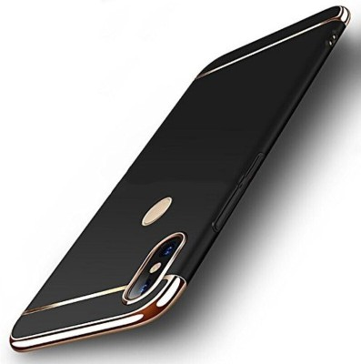 mCase Back Cover for Vivo Y83(Black, Shock Proof, Plastic, Metal)