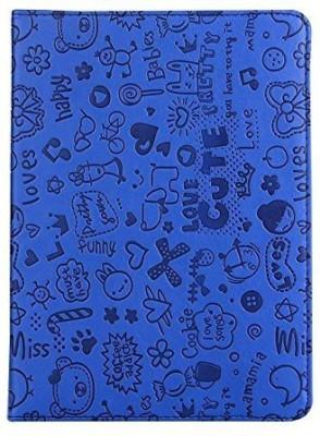 Kolorfish Book Cover for Apple iPad Air 9.7 inch, Apple iPad 9.7 inch(Blue)