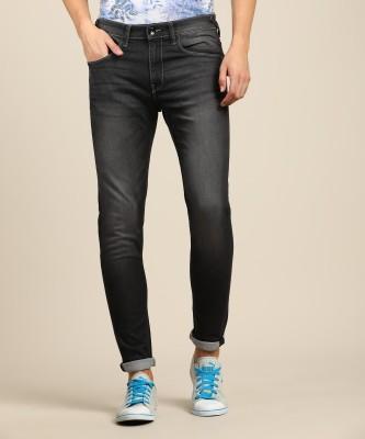 Mufti Slim Men Grey Jeans