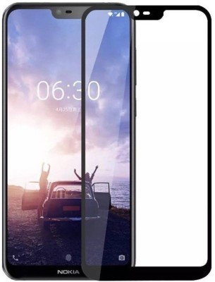 Gorilla Armour Tempered Glass Guard for Nokia 6.1 Plus(Pack of 1)