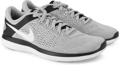 Nike FLEX 2016 RN Running Shoes For Men(Grey) 1