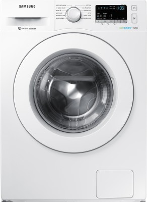 Samsung 7 Fully Automatic Front Load Washer with Dryer with In-built Heater White(WW70J4243MW/TL) (Samsung)  Buy Online