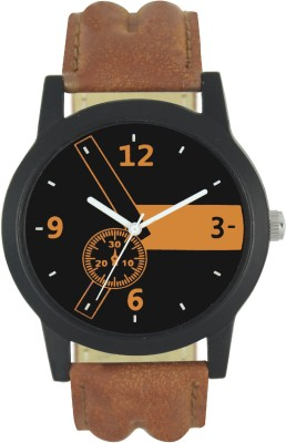AD Global 3474-Full Black Leather And Dial With Fancy Hands Casual Look Boy And Man Analog Watch  - For Boys