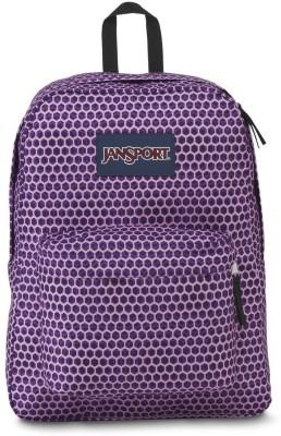 JanSport Superbreak Urban Optical 25 L Backpack(Purple)