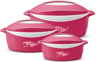Milton Delight Pack of 3 Thermoware Casserole Set(3000 ml)