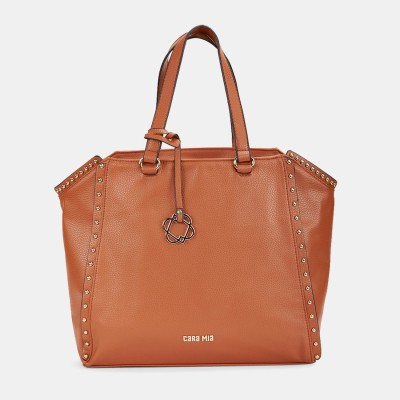 Cara Mia Women Brown Shoulder Bag at flipkart