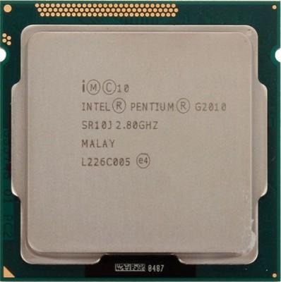 Intel 2.8 LGA 1155 G2010 Processor(Silver)