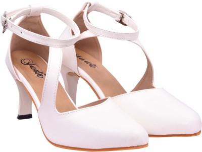 Jade Women White Heels Jade Heels