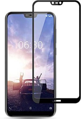 CASEJUNCTION Edge To Edge Tempered Glass for NOKIA 6.1 (NOKIA X6)(Pack of 1)