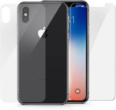 QuikDeal Front and Back Screen Guard for Apple iPhone XS Max(Pack of 1)