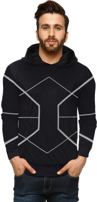 LEWEL Full Sleeve Colorblock Men Sweatshirt