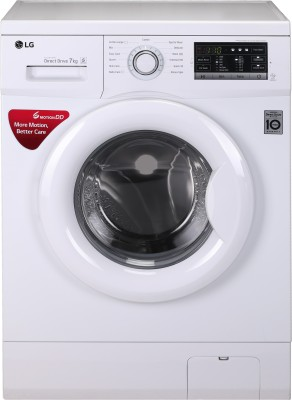 LG 7 kg Inverter Fully Automatic Front Load Washing Machine White(FH0G7QDNL02)