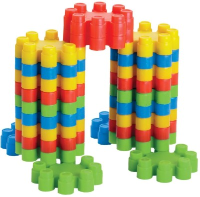 Lodestone Pagoda Blocks, Block Games for Babies, 3 8 Years Multicolor Lodestone Blocks   Building Sets