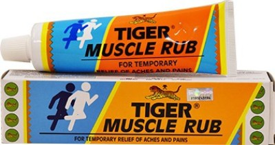 Tiger Balm Tiger Muscle Rub 60g for temporary relief of aches & pains Cream(60 g)